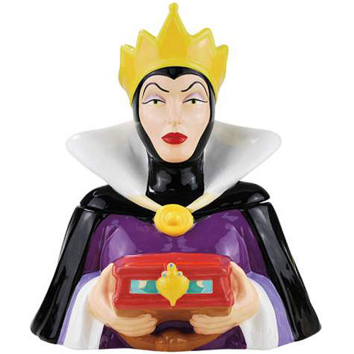 Snow White and the Seven Dwarfs Evil Queen Cookie Jar