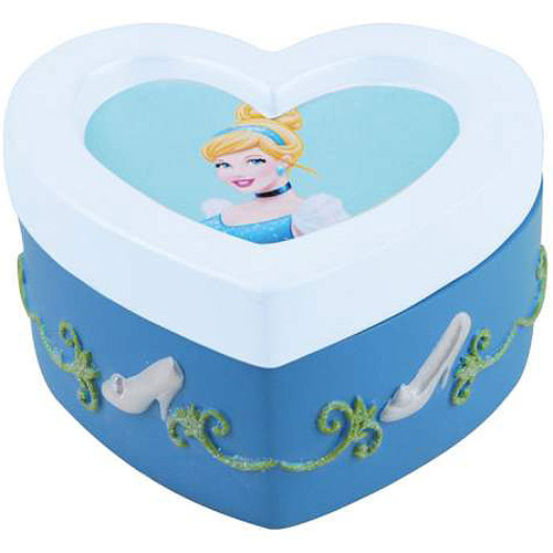 Cinderella Heart Trinket Box
