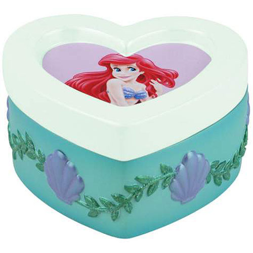 Little Mermaid Ariel Heart Trinket Box