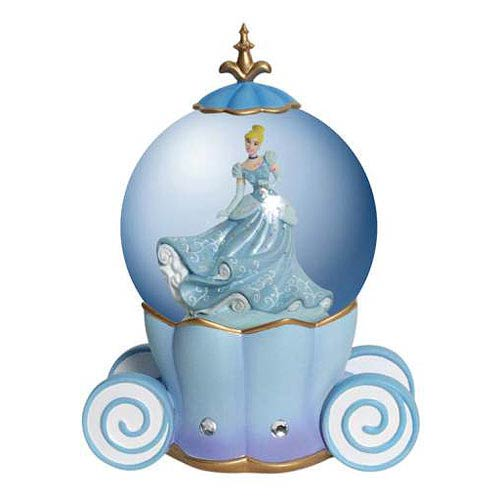 Cinderella Disney Princess Cinderella's Carriage Water Globe