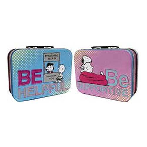 Peanuts Be Helpful Be Supportive Mini Tin Tote