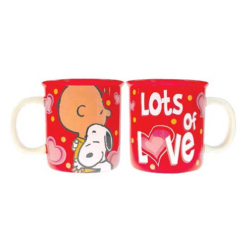 Peanuts Lots of Love 52 oz. Monster Mug