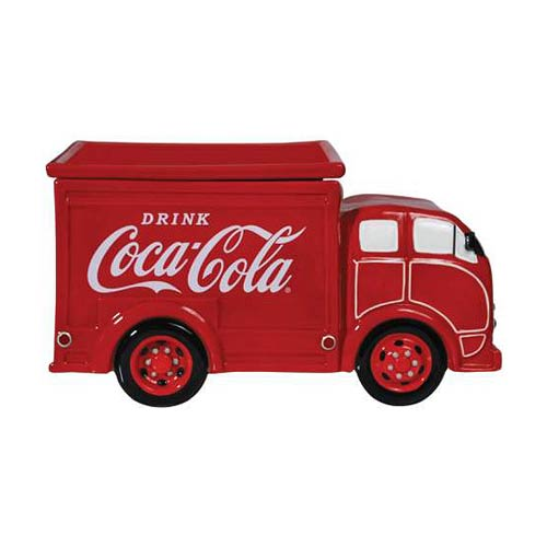 Coca-Cola Delivery Truck Cookie Jar