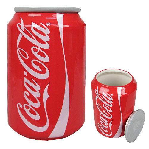 Coca-Cola Canister Ceramic Statue