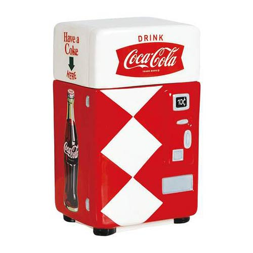 Coca-Cola Have a Coke Vending Machine Canister