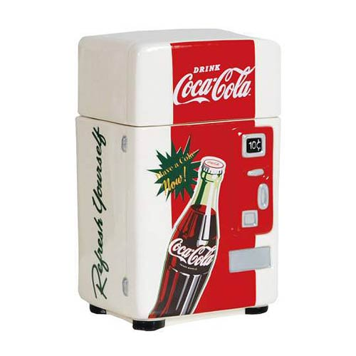 Coca-Cola Refresh Yourself Vending Machine Canister