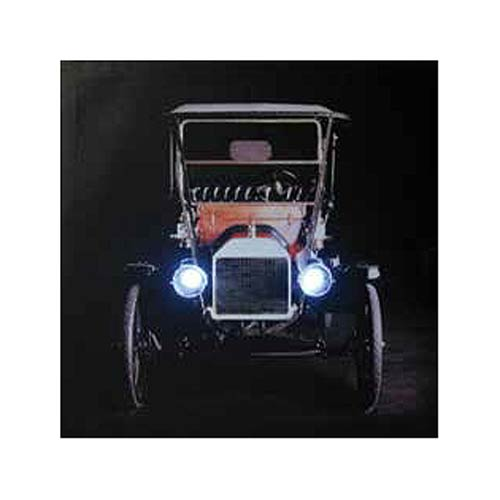 Ford 1912 Model T Light-Up Canvas Print