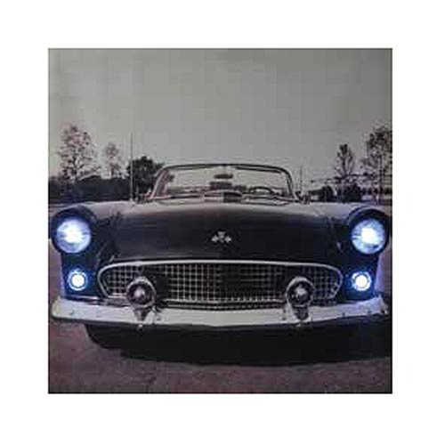 Ford 1950s Thunderbird Light-Up Canvas Print