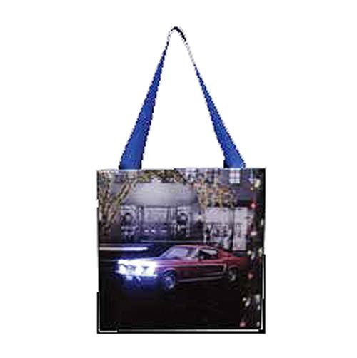 Ford Mustang 1960s Classic Christmas Hanging Light-Up Print
