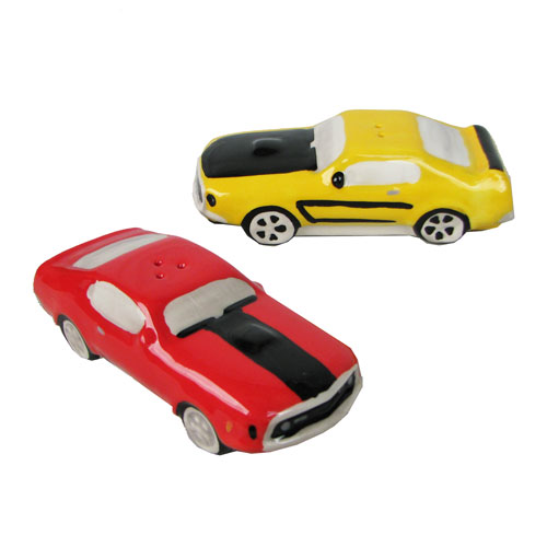 Ford Mach 1 and Boss 302 Salt and Pepper Shaker Set