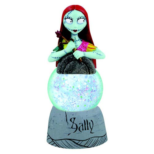 Nightmare Before Christmas Sally 1 1/4-Inch Sparkler Globe