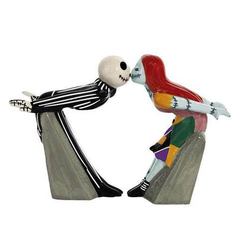NBX Jack and Sally Kiss Salt and Pepper Shakers