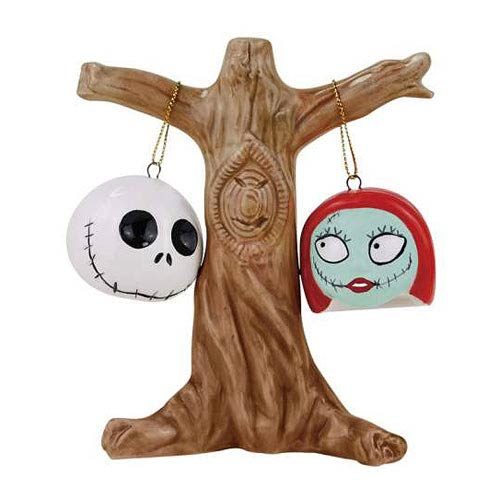 NBX Jack and Sally Heads Salt and Pepper Shakers