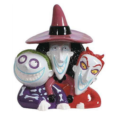 Nightmare Before Christmas Lock Shock and Barrel Cookie Jar ...