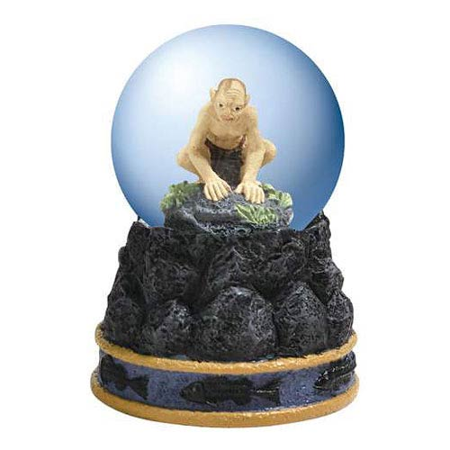 Lord of the Rings Gollum Miniature Water Globe