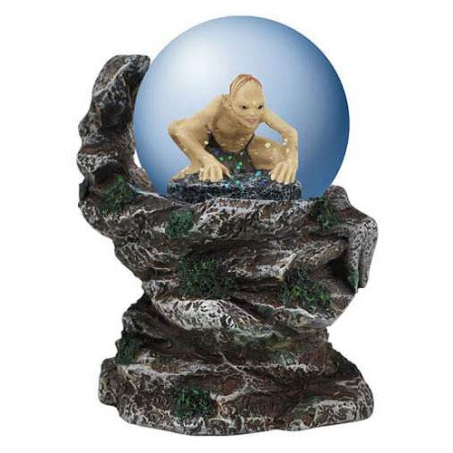 Lord of the Rings Gollum Cliffside Water Globe