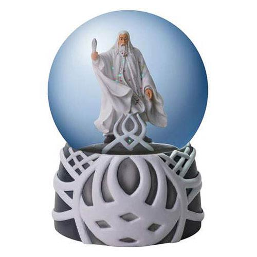 Lord of the Rings Gandalf the White Water Globe