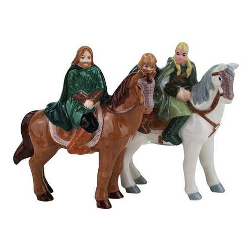 Lord of the Rings Horseback Salt and Pepper Shakers