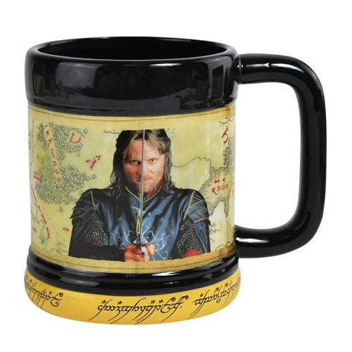 Lord of the Rings Aragorn 15 oz. Mug