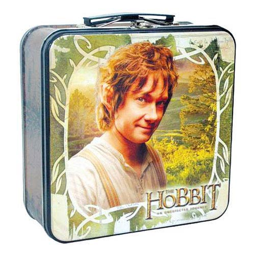 The Hobbit An Unexpected Journey Bilbo Baggins Tin Tote