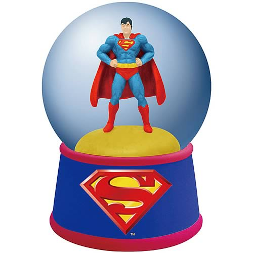 Superman Water Globe