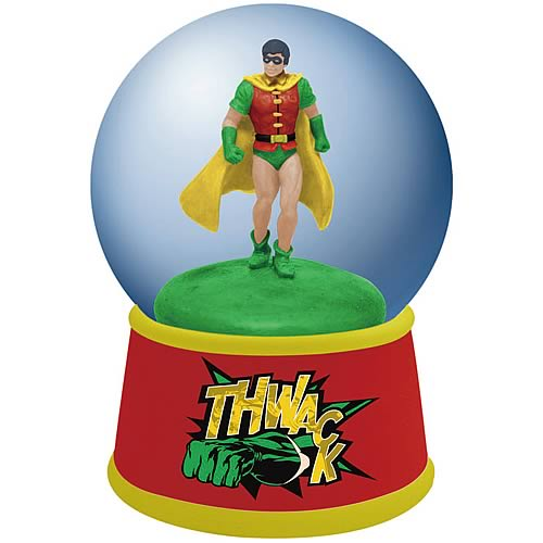 Batman Robin Water Globe