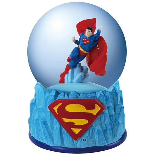 Superman Icicles Water Globe