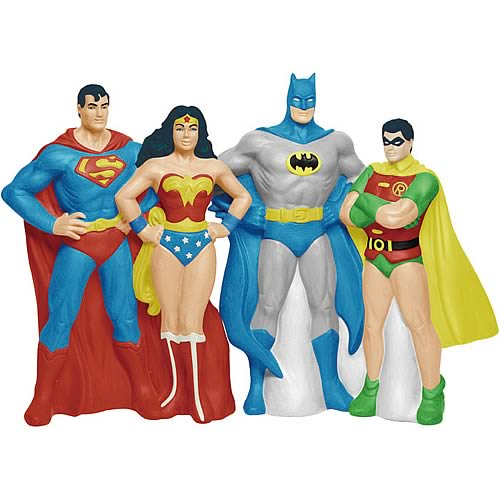 DC Comics Superheroes Salt and Pepper Shaker Set