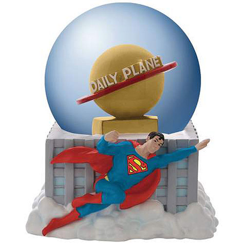 Superman Daily Planet Water Globe
