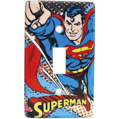 Superman Light Switch Plate