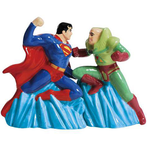 Superman vs. Lex Luthor Salt & Pepper Shakers