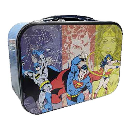 DC Comics Super Friends Tin Tote Lunch Box