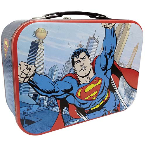 Superman Tin Tote Lunch Box