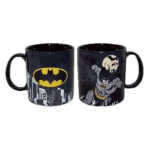 Batman Stoneware 14 oz. Black Mug