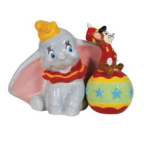 Dumbo and Timothy Salt and Pepper Shakers