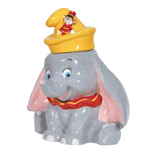 Dumbo with Timothy Cookie Jar