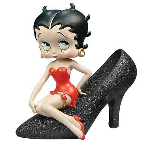 Betty Boop Stepping Out Mini Bobble Head