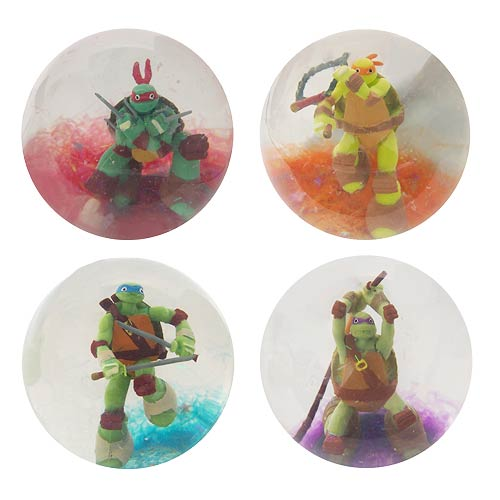 Teenage Mutant Ninja Turtles Ninja Action Balls Half Case