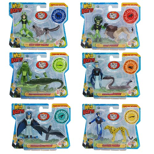 The Wild Toys : Wild kratts activate animal power pack assortment case