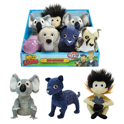 Wild Kratts Wildlife Plush Case