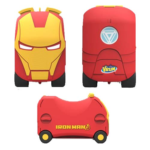 Marvel Iron Man VRUM Ride-On Toy Box