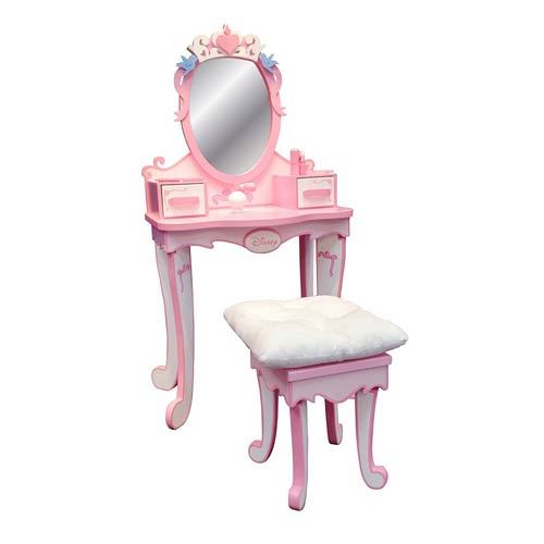 Disney Princess Royal Vanity Wooden Play Set