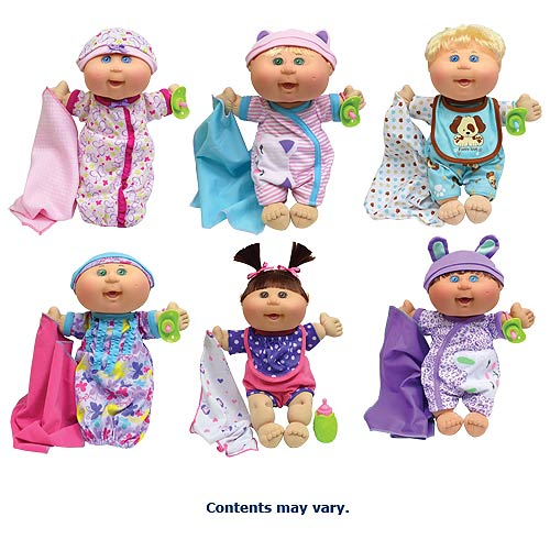 Cabbage Patch Kids Naptime Babies 12 1 2 Inch Doll Case