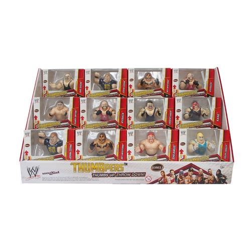 WWE ThumbPers Thumb Wrestlers Display Box