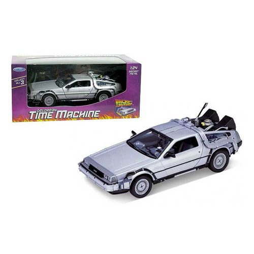 Back to the Future DeLorean Time Machine Die-Cast Vehicle