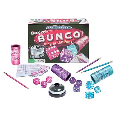 Deluxe Box of Bunco Game