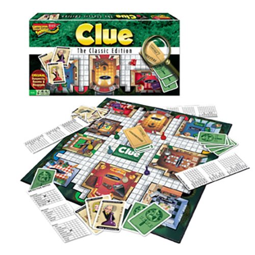 Clue Classic Edition Game