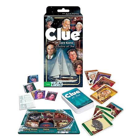 Clue: Mystery At Sea Card Game
