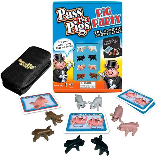 Pass the Pigs Pig Party Edition Game