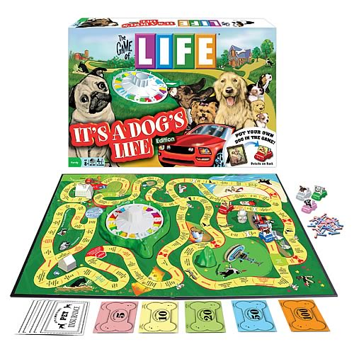 The Game Of Life It's A Dog's Life Edition Game
